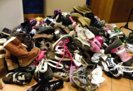Something's afoot! Tips for Shoes at Front Door